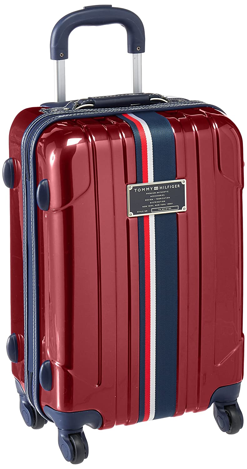 Amazon.com   Tommy Hilfiger Lochwood 21 Inch Spinner Carry-On Luggage,  Burgundy, One Size   Suitcases cc3dfc8dcb