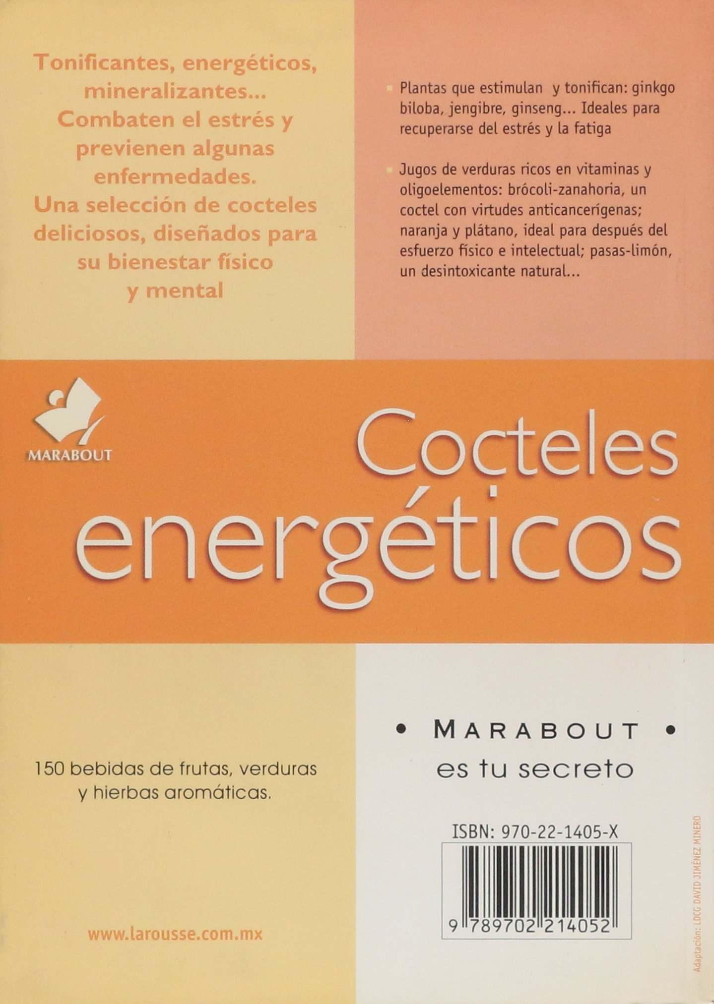 Cocteles Energeticos/ Energetic Cocktails (Nutricion) (Spanish Edition): Ediciones larousse: 9789702214052: Amazon.com: Books