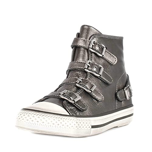 1a81900d79be Ash Virgin Buckle Trainers Stone Leather  Amazon.co.uk  Shoes   Bags