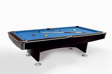 Mesa de billar Club Master 8 FT 224 x 112 cm con Bandeja de pizarra, incluye montaje y set de accesorios de John West billar: Amazon.es: Deportes y aire libre