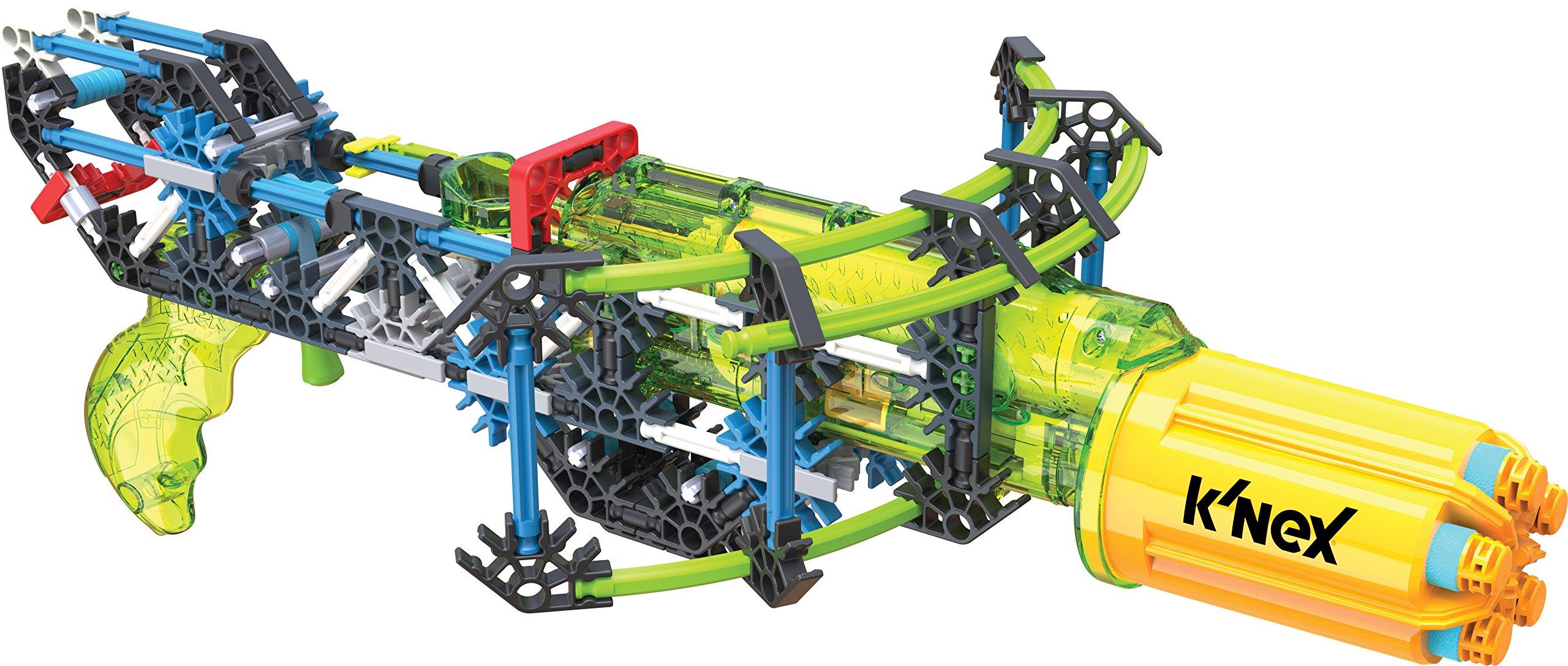 K'NEX K-FORCE – Super Strike RotoShot Blaster Building Set – 201 Pieces –  Ages 8+ Engineering Education Toy