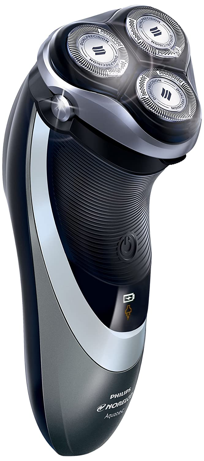 Philips Norelco Shaver 4500, Rechargeable Wet Dry Electric Shaver, with Pop-up Trimmer Cleaning Brush, AT830 41 Frustration Free Packaging