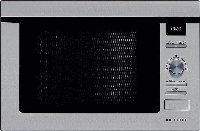 MICROONDAS INFINITON de Integración IMW-1625 900W C/GRILL 25L INOX ...