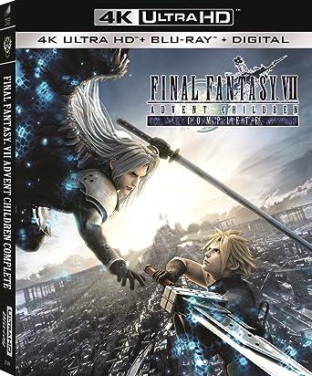 Poster. Final Fantasy VII: Advent Children Complete