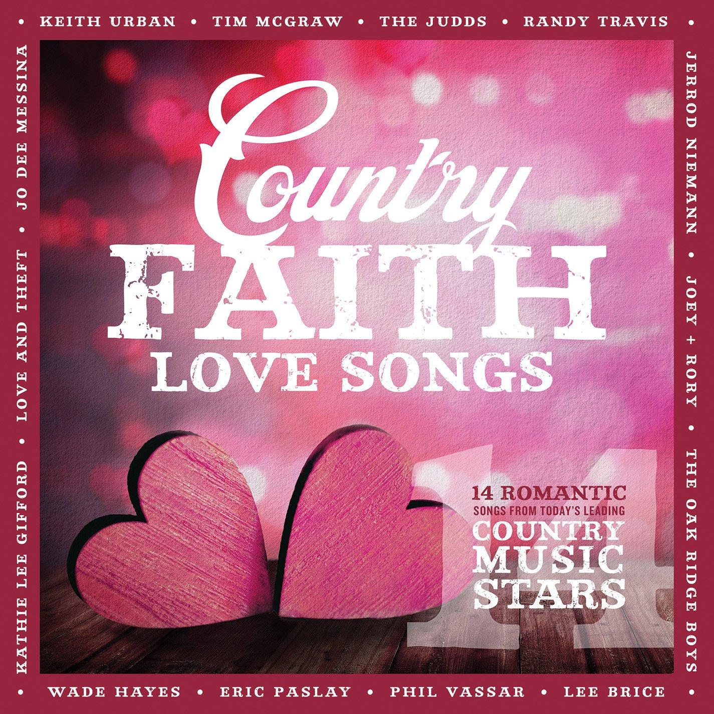 CD : Country Faith - Country Faith Love Songs (CD)