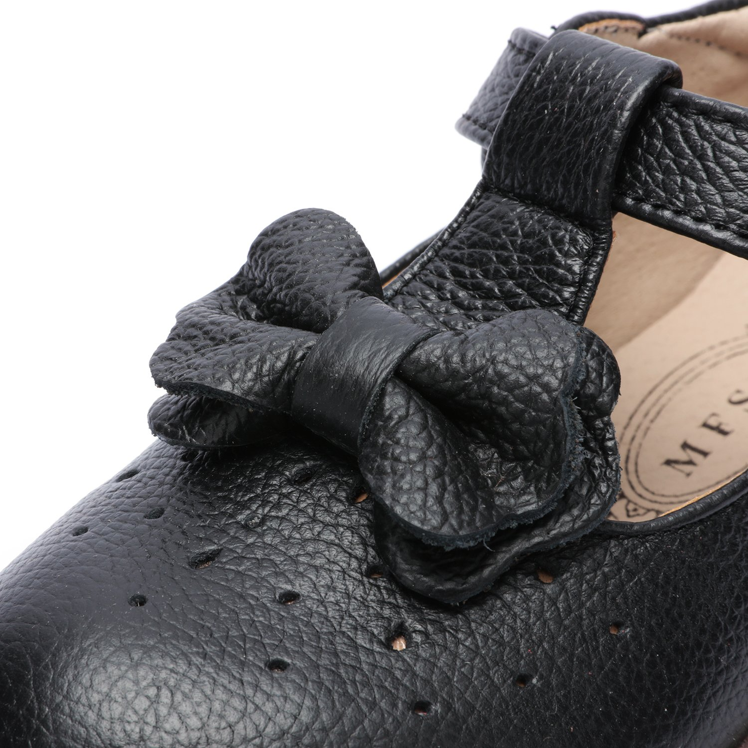 UBELLA Kids Toddler Girl's Retro T-Bar Princess Dress Shoes Leather Strap Mary Jane Flat Oxford Shoes by UBELLA (Image #7)