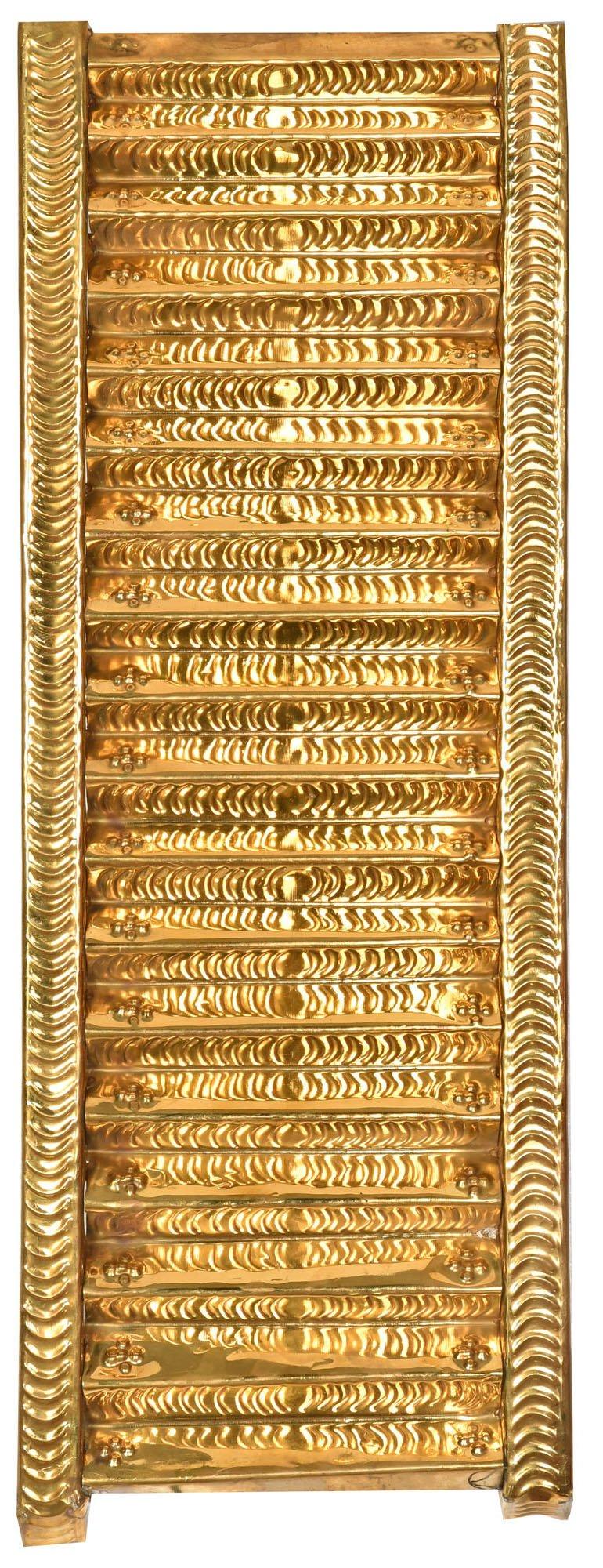 Eighteen Steps of Sabarimala Ayyappa Temple (for Padi Puja) - Brass and Iron Statue