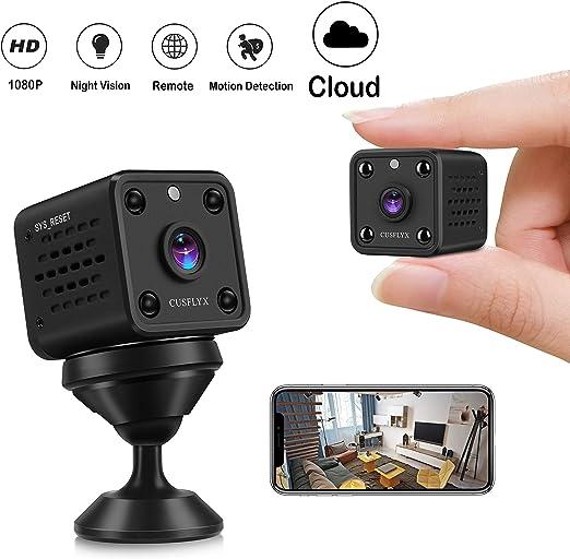Cámaras Espía-CUSFLYX Cloud 1080P WIFI Full HD Mini Cámara ...