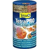 Tetra Pro Multi-Crisps Menu - 4-in-1 premium visvoermix met verschillende soorten crisps voor energie, kleur, groei, 250…