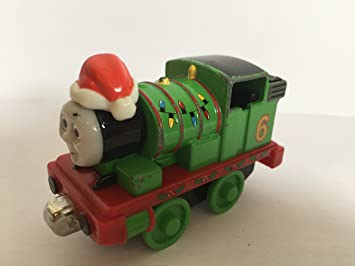 Thomas and Friends Take N Play HOLIDAY PERCY Train Engine
