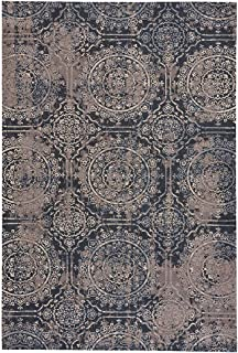 "product image for Taylor-Crown Coal 6' 7"" x 9' 10"" Rectangle Machine Woven Rug"