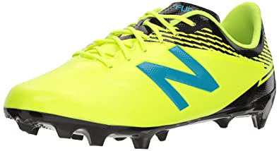 0de00e36e New Balance Men's Furon 3.0 Dispatch FG Soccer Shoe, hi lite/Maldives, 6.5