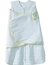 Halo Innovations SleepSack Swaddle Cotton Diamond, Turquoise, Newborn