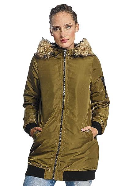 new style 7b8ee 77647 Vero Moda Donna Giacche / Cappotto vmDicte Fake Fur 3/4 J ...