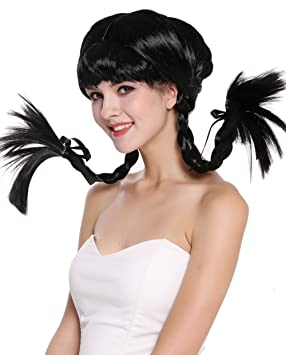 WIG ME UP ®- DDH-T8175-P103 Peluca Mujer Carnaval Halloween Chica atrevida