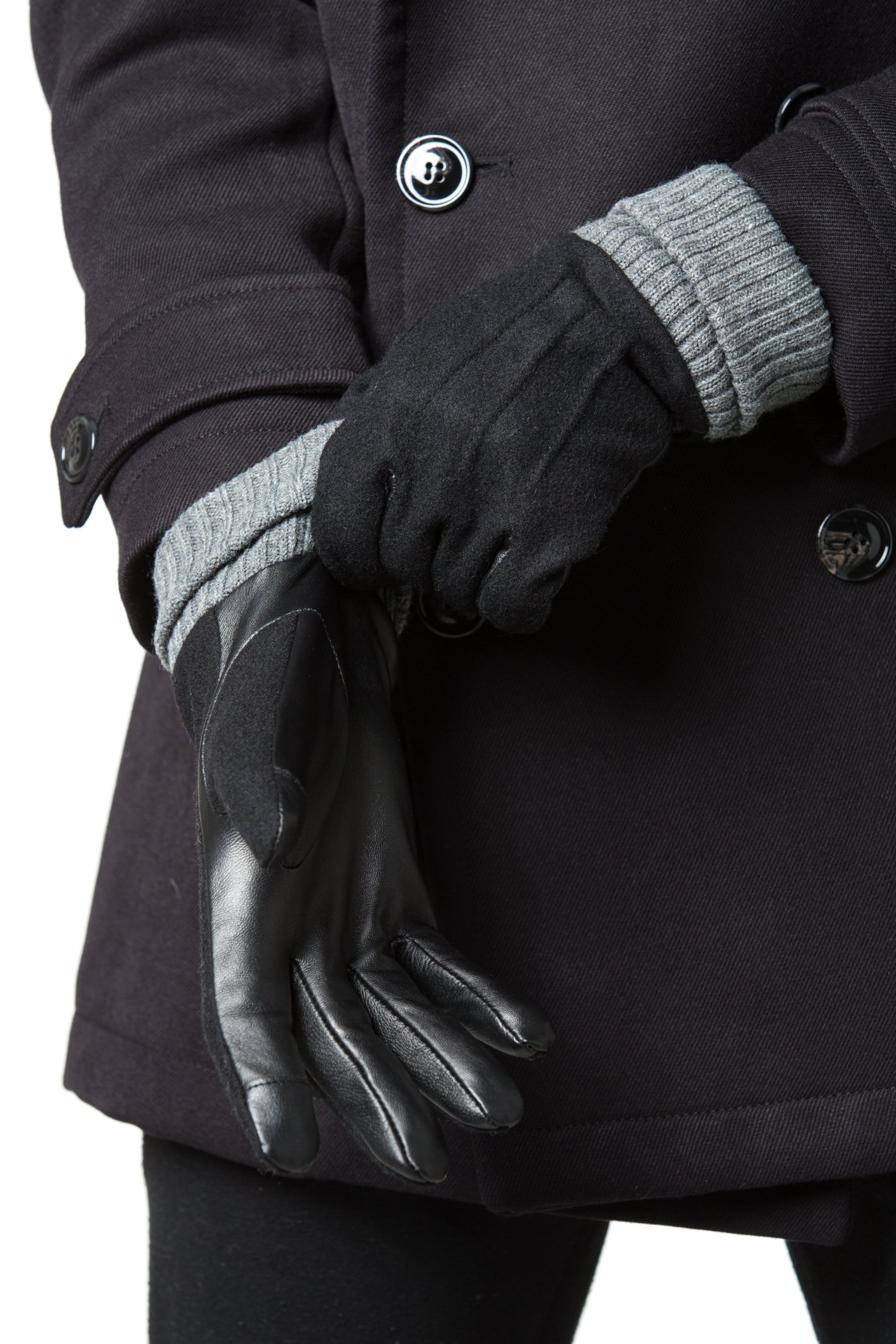 Gallery Seven Mens Warm Insulated Winter Glove - Cold Weather Texting Glove - Wrapped In A Gift BOX