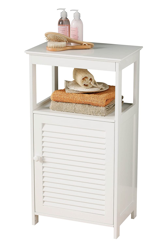 Premier Housewares Floorstanding Cabinet, 83 x 45 x 30 cm - White ...