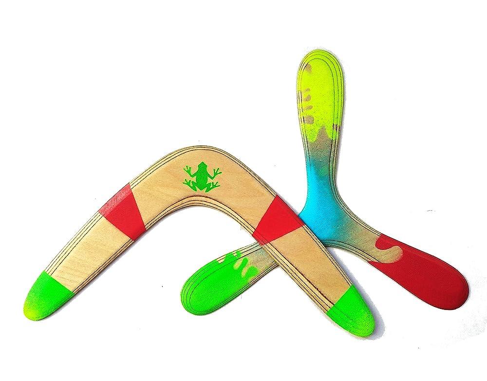 Boomerangs de madera, ideal niños. Boomerang regalo, aire libre ...