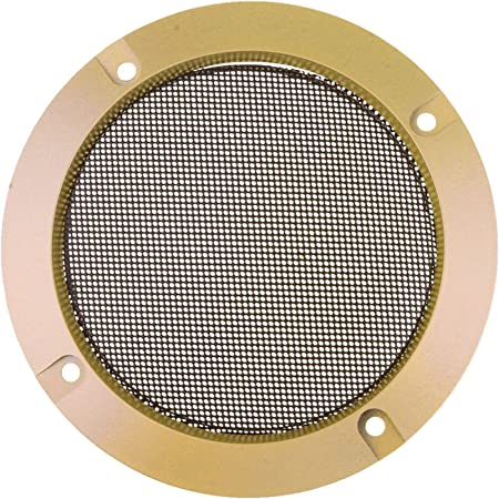 Flameer Lautsprecherabdeckung Gitter Metall Abdeckung Elektronik