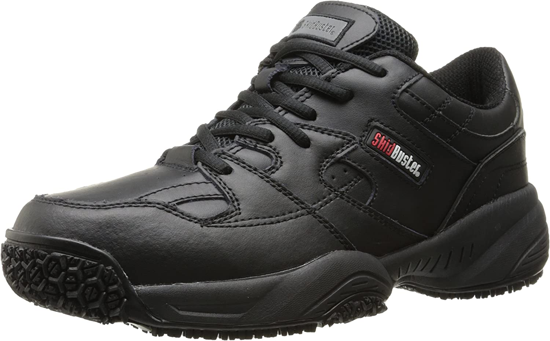 Skidbuster 5050 Men's Leather Comfort Slip Resistant Athletic Shoe