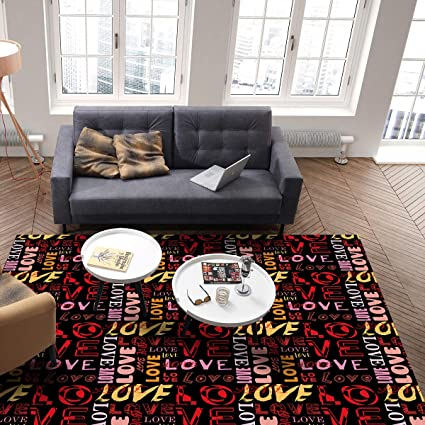 Amazon.com : Beauty Decor Indoor Area Rugs for Bedroom ...