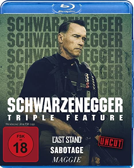 Arnold Schwarzenegger - Triple Feature [Blu-ray]