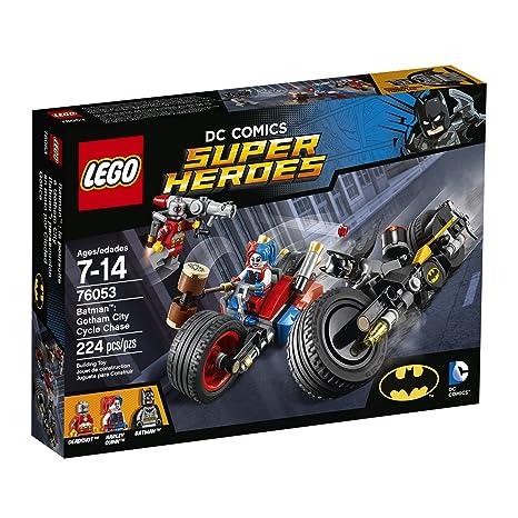 Amazon Lego Super Heroes Batman Gotham City Cycle Chase 76053