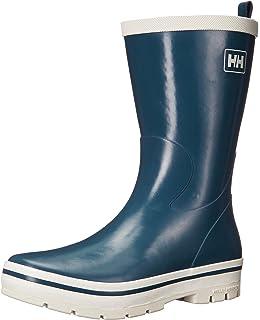 0c0f7230e05d Helly Hansen Women's Waterproof Midsund 2 Rain Boots, Tech Navy/Off White,  ...