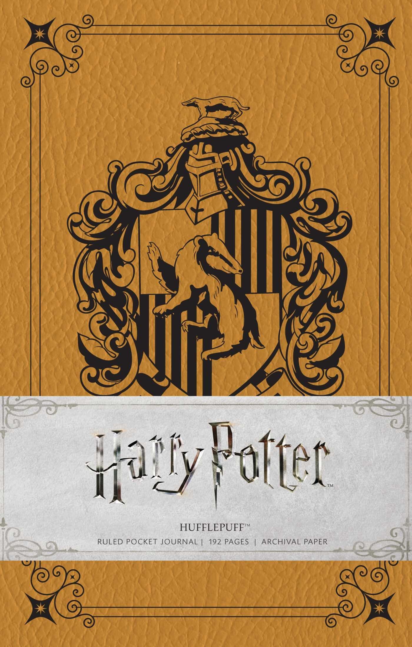 harry potter hufflepuff ruled pocket journal insights journals