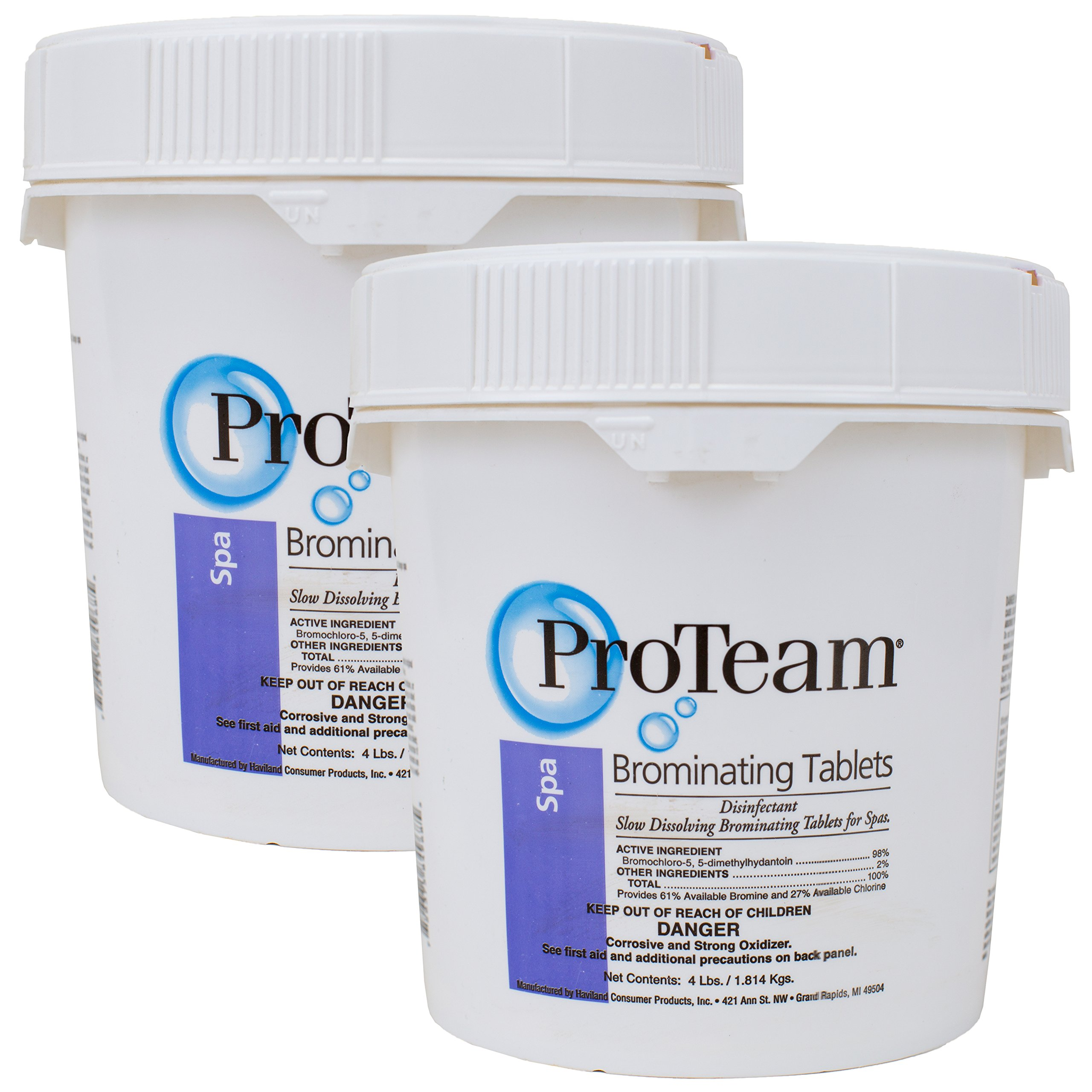 ProTeam Brominating Tablets (4 lb) (2 Pack) by ProTeam