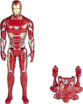 Avengers Marvel Infinity War Titan Hero Power FX Iron Man Figura ...