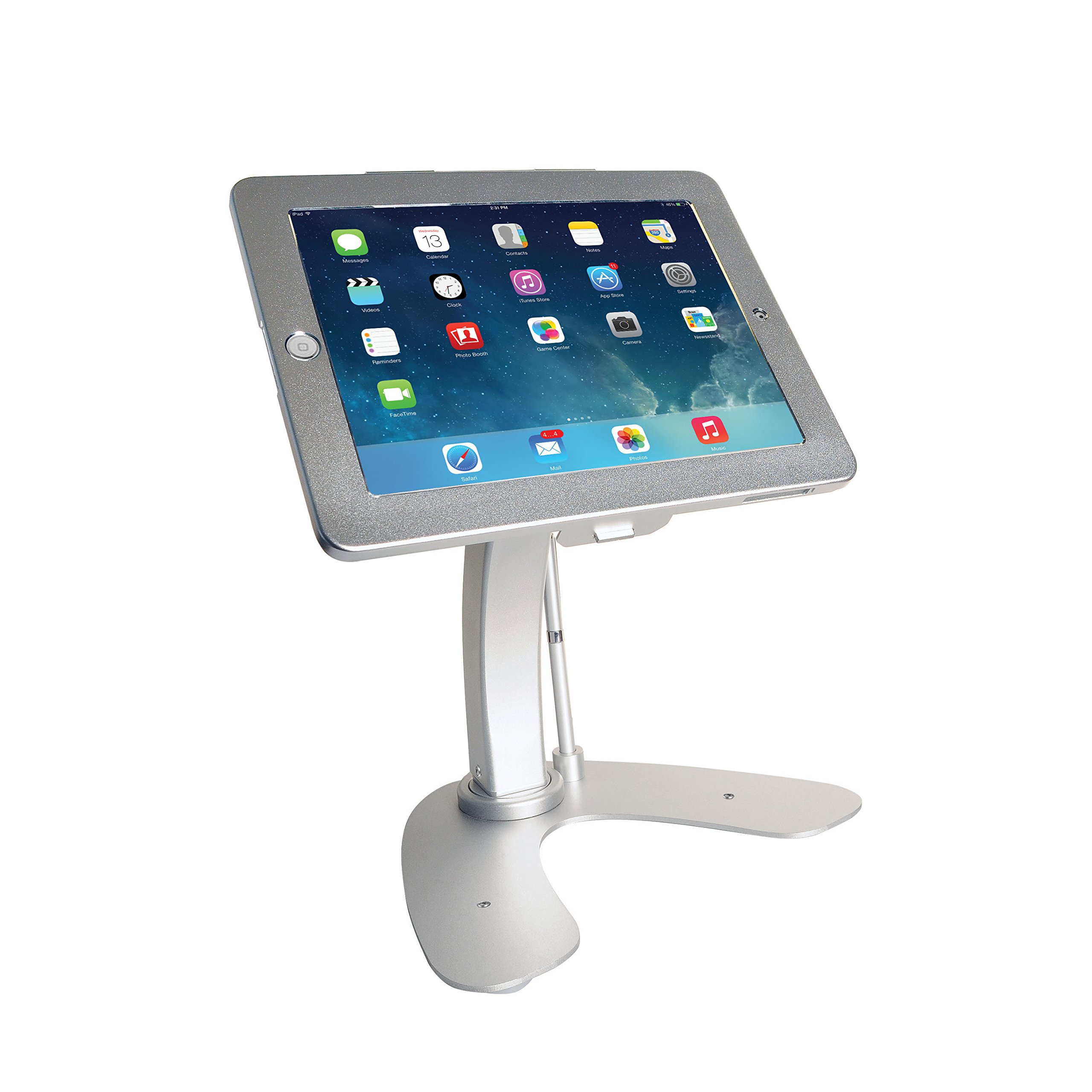 Anti-Theft Security Kiosk Stand for iPad (2017)/iPad Air/iPad Pro 9.7/iPad (2-4)