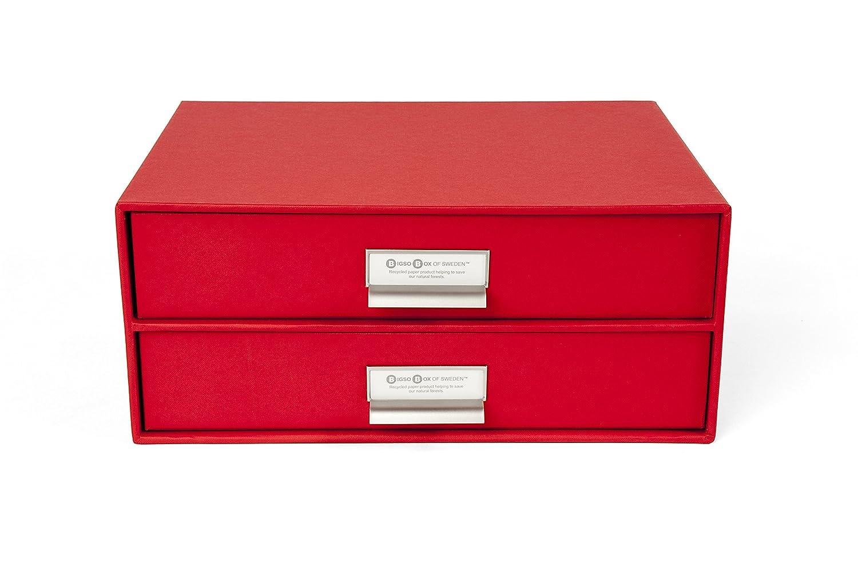 Amazon.com: Bigso 2 Drawers Birger File Box, Dark Grey: Kitchen U0026 Dining