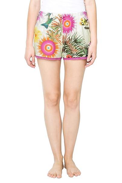 Desigual 61NL0P1, Pantalones de Pijama para Mujer, Morado (Lila FLANDES), 42