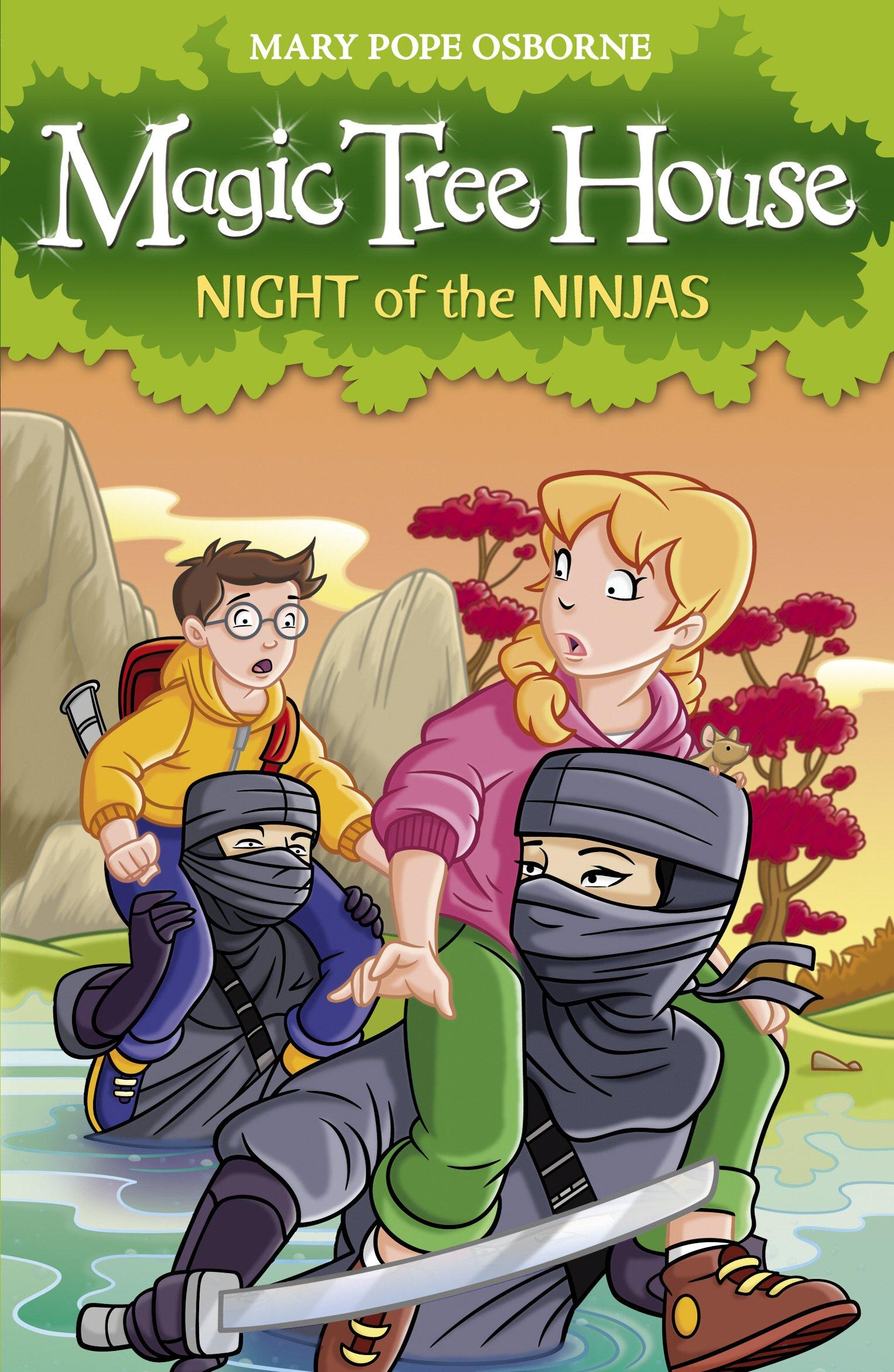Magic Tree House 5: Night of the Ninja: Mary Pope Osborne ...