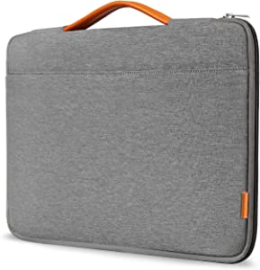 Inateck Laptop Sleeve Case Compatible 12.3 Inch Surface Pro X/7/6/5/4/3, 13 Inch MacBook Air 2020 2019 2018(A2179/A1932), MacBook Pro 2020/2019/2018/2017/2016, Tablet Bag Briefcase with Handle - Gray