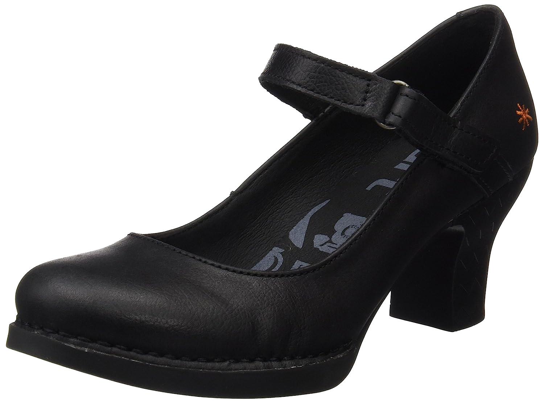 TALLA 37 EU. ART 0933 Memphis Black/Harlem, Zapatos de tacón con Punta Cerrada para Mujer