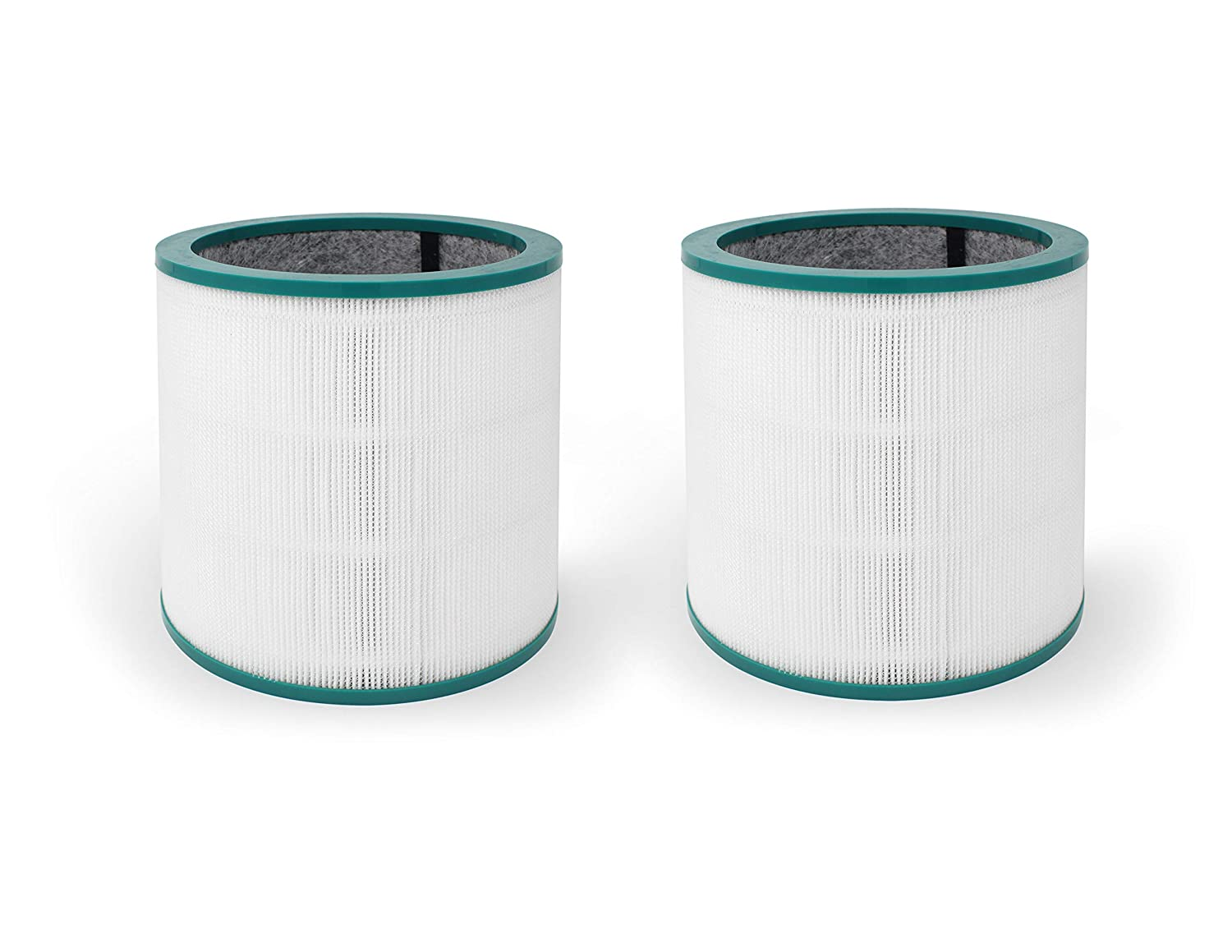 Fette Filter - Air Purifier Filter Compatible with Dyson Tower Purifier for TP02 & TP03 Models. Compare to Part # 968126-03. (Pack of 2)