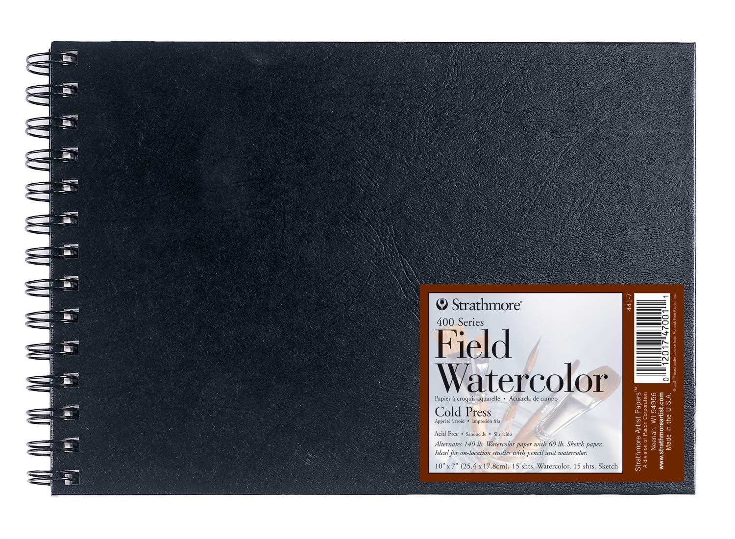 Strathmore Field Watercolor Book 10X7 by Strathmore Strathmore Artist Papers FBA_441-7