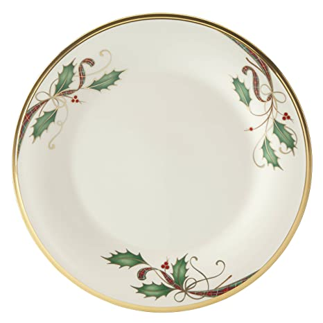 Lenox Holiday Nouveau Gold Dinner Plate  sc 1 st  Amazon.com & Amazon.com: Lenox Holiday Nouveau Gold Dinner Plate: Kitchen u0026 Dining
