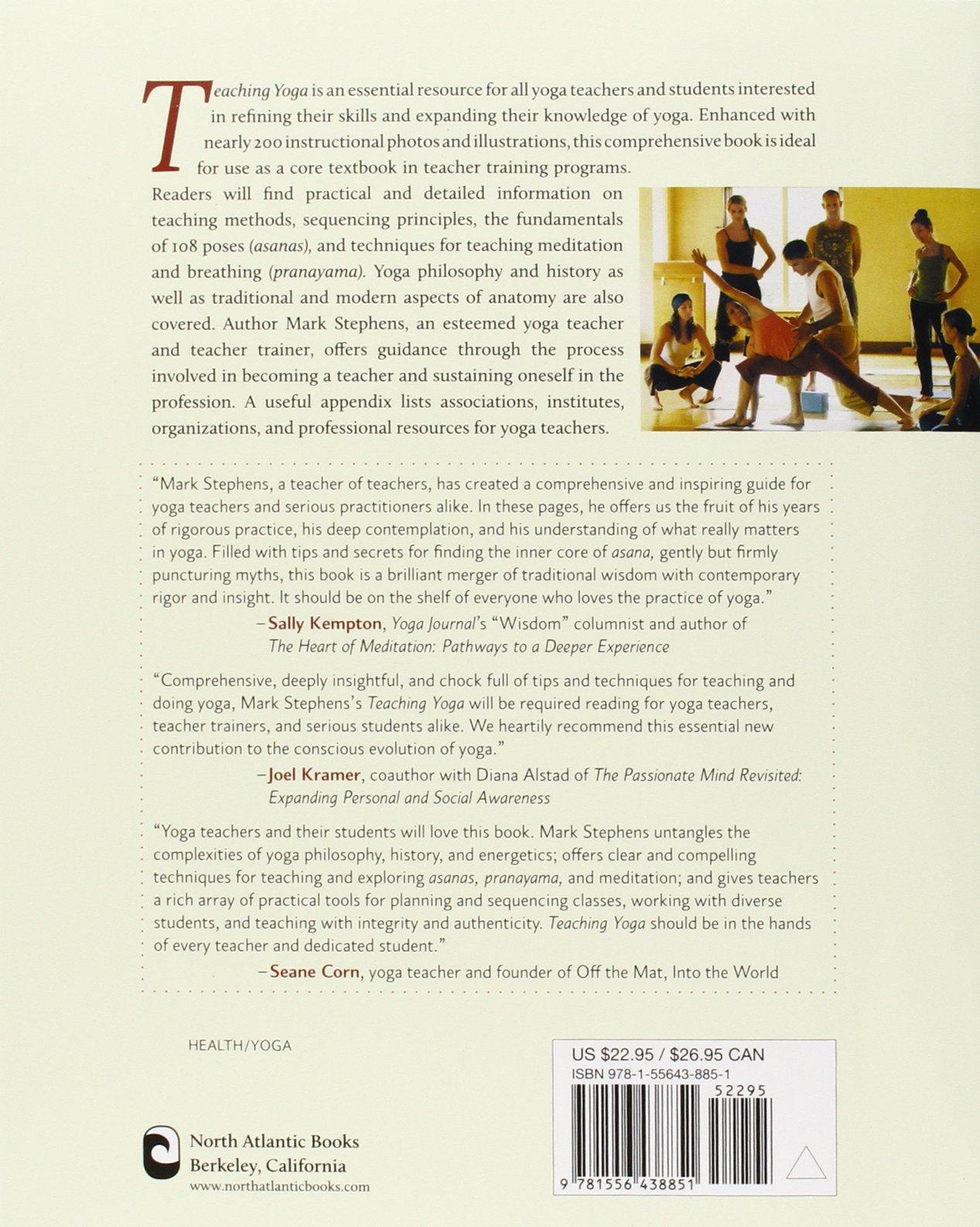 Teaching Yoga: Essential Foundations And Techniques: Mark Stephens, Mariel  Hemingway: 9781556438851: Amazon: Books