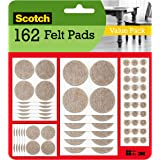 Scotch Mounting, Fastening & Surface Protection SP845 Scotch Brand 3M, for protecting linoleum floors, Round, Beige, Assorted