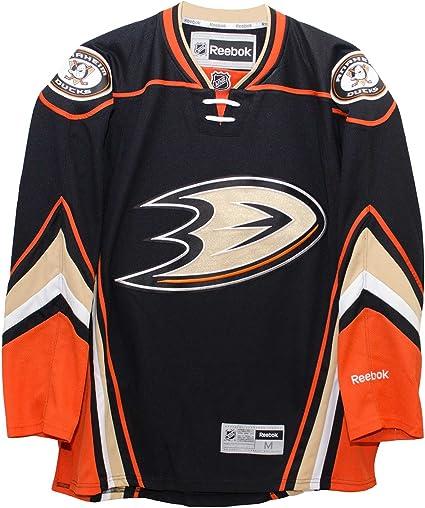 Reebok Anaheim Ducks 2015 16 Home Black Premier Jersey
