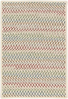 product image for Chapman Wool Rugs, 2' x 12', Spring Mix Natural