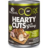Wellness CORE Hearty Cuts Natural Wet Grain Free Canned Dog Food, 12.5-Ounce Can (Pack of 12)