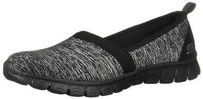 4e2d7494043b Image Unavailable. Image not available for. Colour  Skechers Women s EZ  Flex 3.0 - Swift Motion Black Loafers   Slip-ONS Shoe 6.5