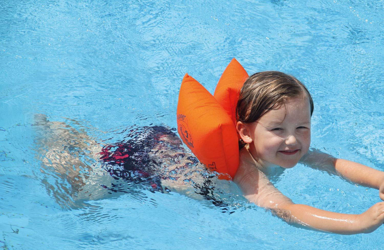 FLIPPER Flotadores Swimsafe para 15 - 60 kg (SCHWIMMKISS): Amazon.es: Juguetes y juegos
