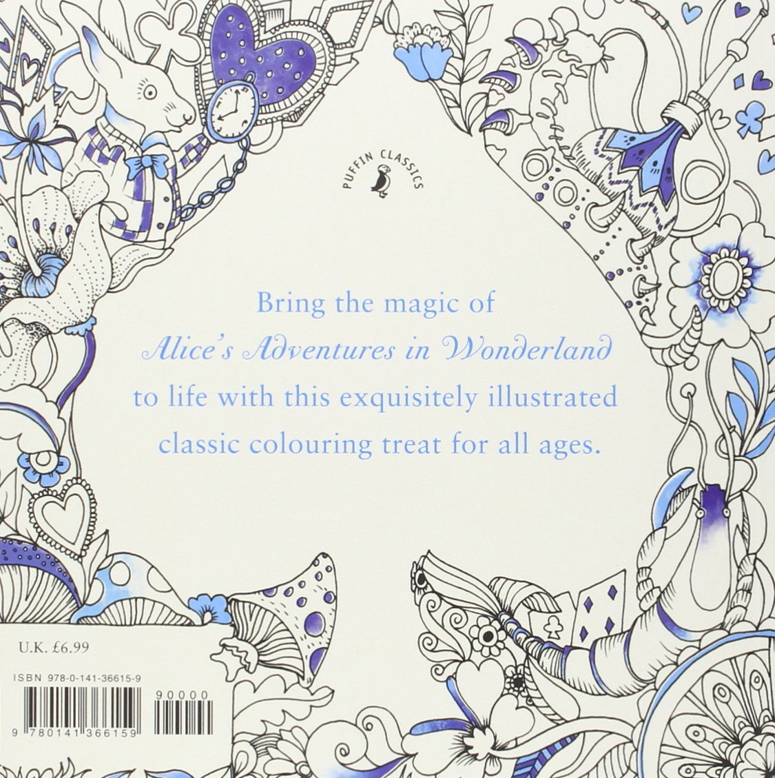 buy escape to wonderland a colouring book adventure book online