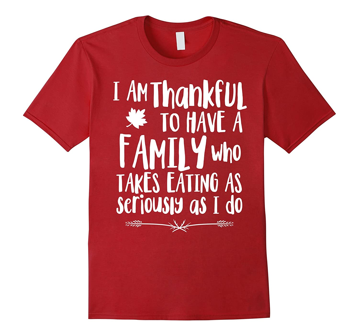 Funny Thankful Family Shirt For Thanksgiving Day-T-Shirt