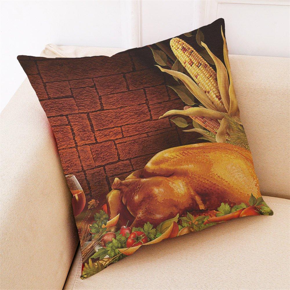 COOKDATE 2913p - Funda de cojín (algodón), diseño de ...